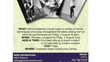 DANCE EXPLORERS CAMP